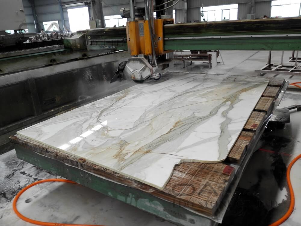 Calacatta Gold White Marble Vanity Tops (2)