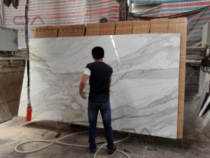 Calacatta Gold White Marble Vanity Tops (6)