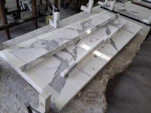 Calacatta Gold White Marble Vanity Tops (7)