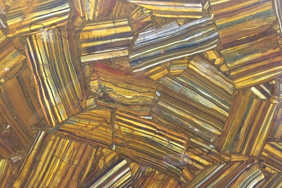 Brown Agate Semiprecious Stone Slabs