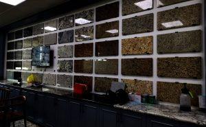 China granite stone countertop factory
