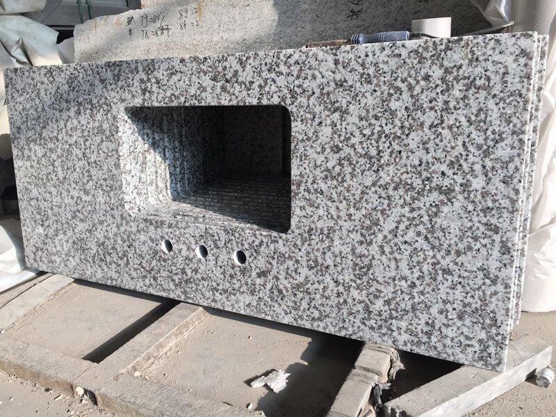 granite countertops for white cabinets