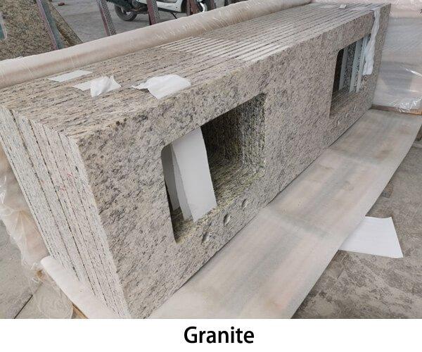 Granite stone vanity tops