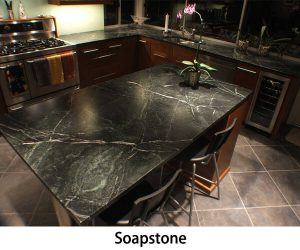 Soap Stone kitchen countertops