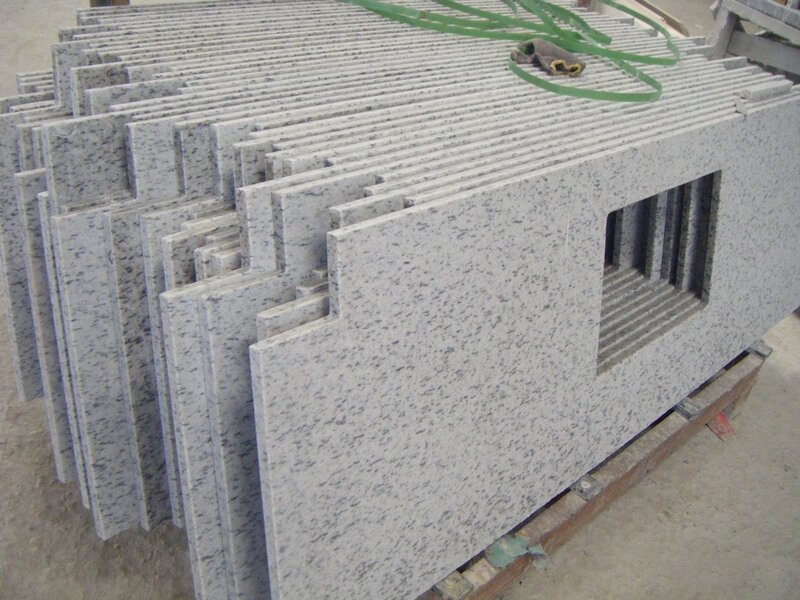 Camelia White Granite countertops