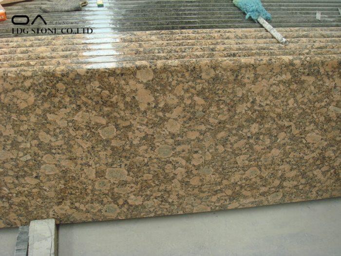 Giallo Fiorito granite countertops