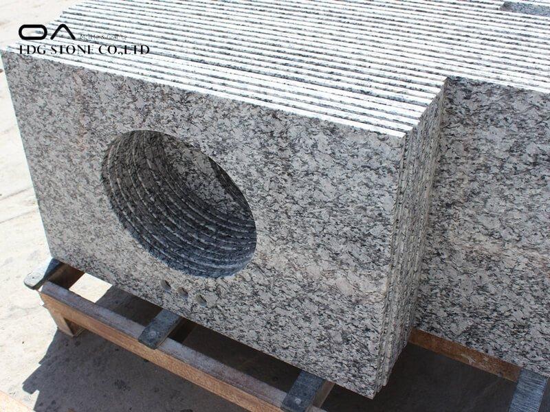 Chinese Wave White granite countertops