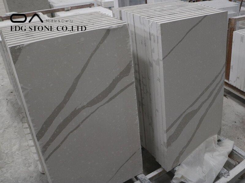 white calacatta quartz countertops