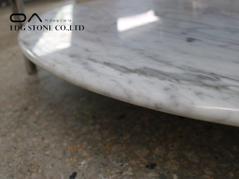 white marble vanity top