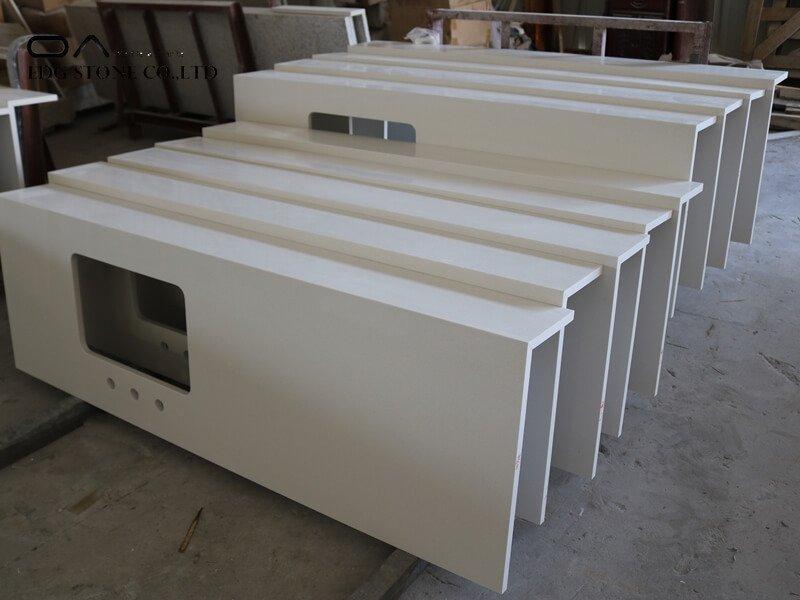 white quartz marble countertops