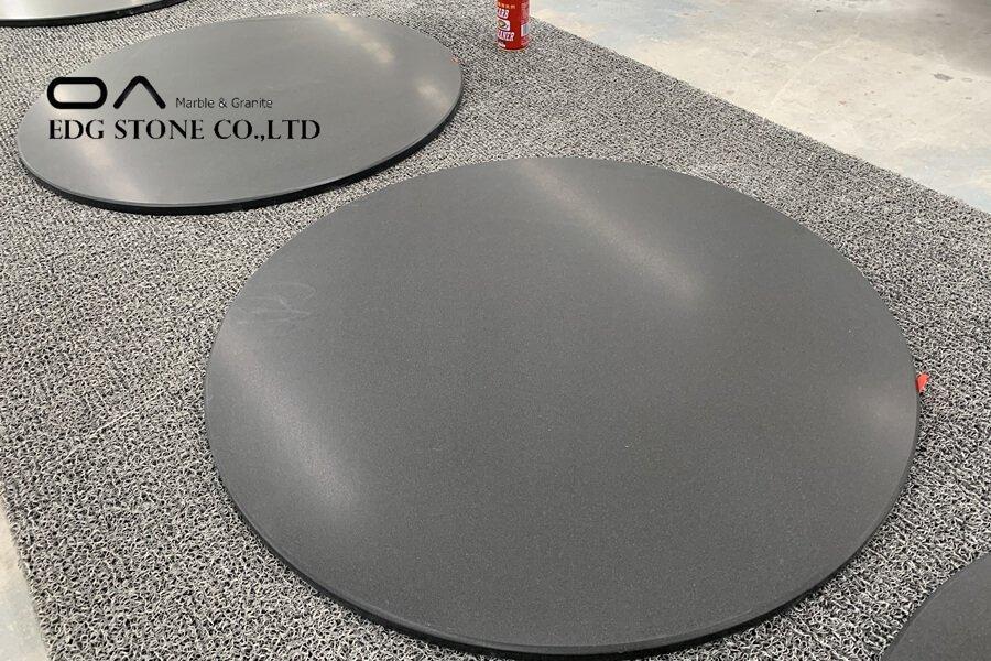 black marble countertops