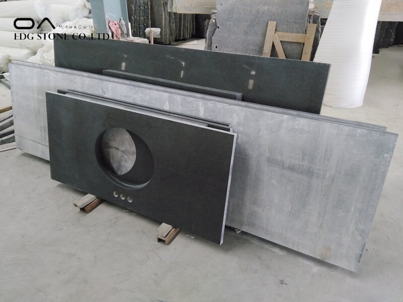 grey sparkle quartz worktop