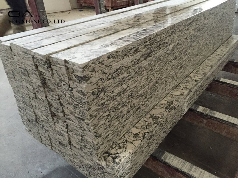 veined quartz countertops