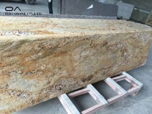 Imperial Gold granite countertops