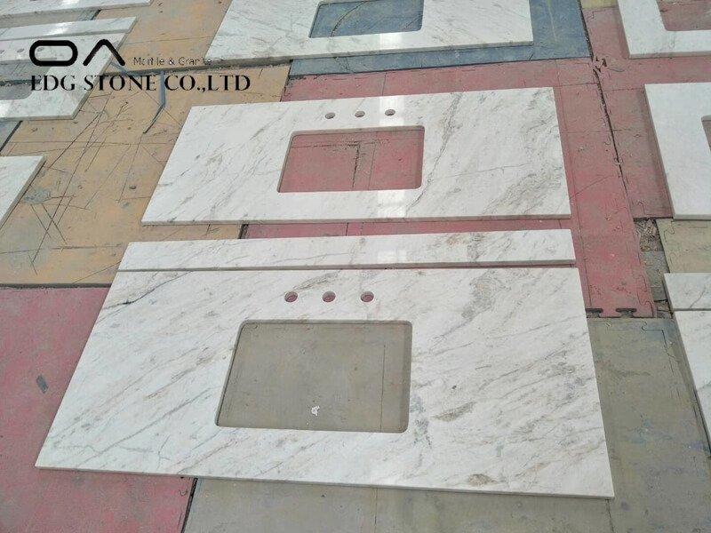 grey marble vanity top