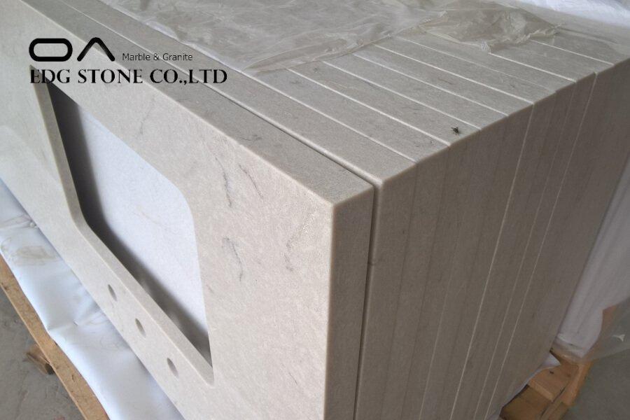 terrazzo quartz countertops