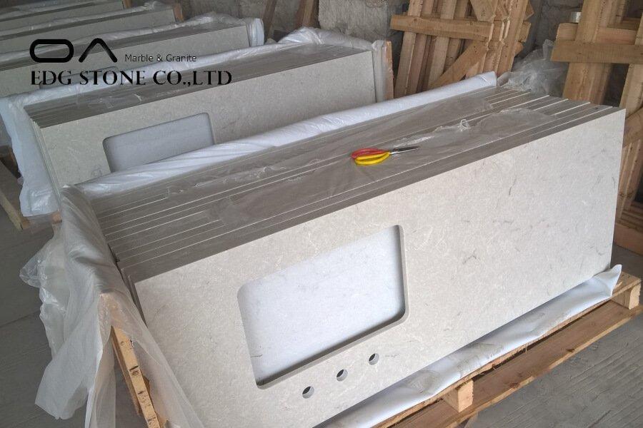 thin quartz countertops