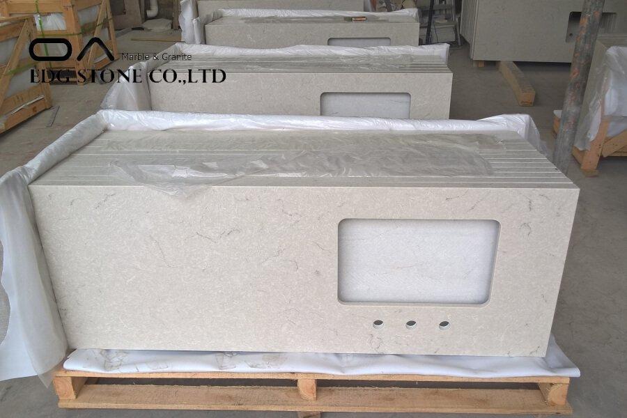 translucent quartz countertops