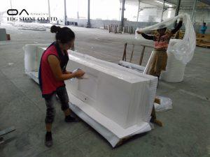2 cm quartz countertop