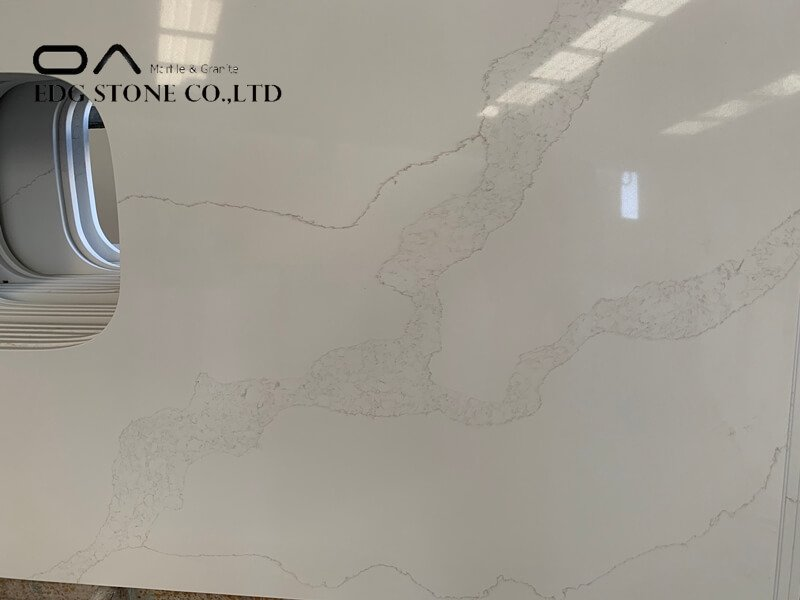 calacatta gold quartz home depot