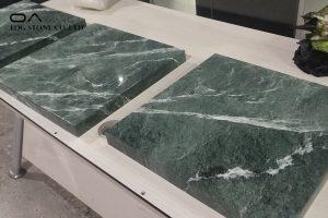 green marble countertops