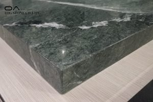 green marble kitchen countertops