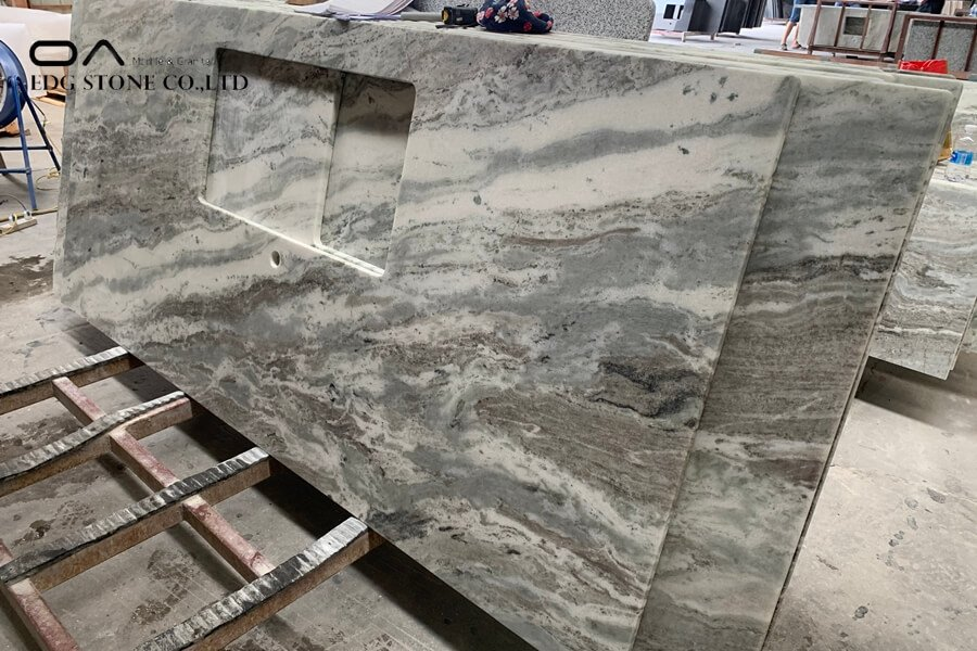 marble countertop installation