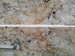 orange granite countertops