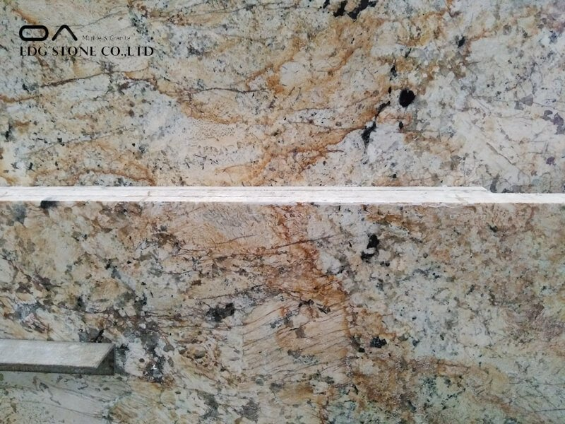orange granite countertops