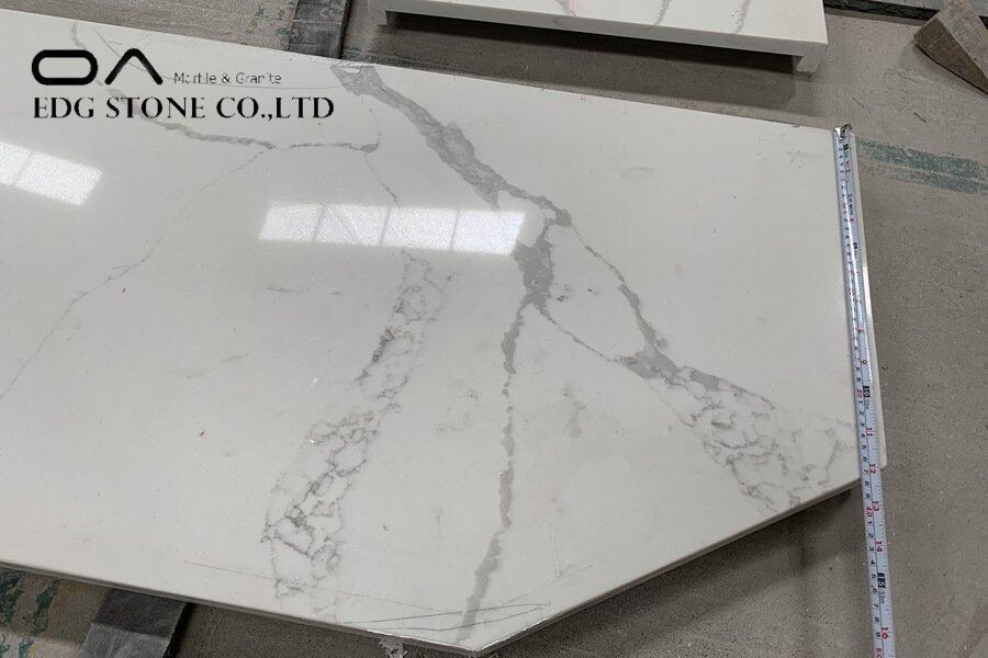 calacatta super white quartz