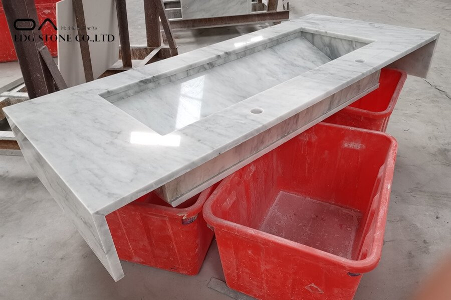 marble kitchen top