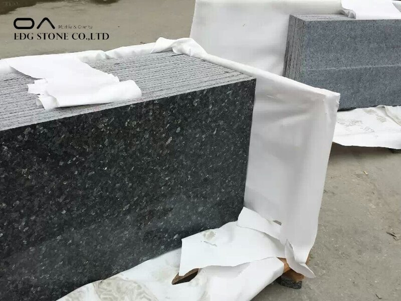 silver pearl leathered granite