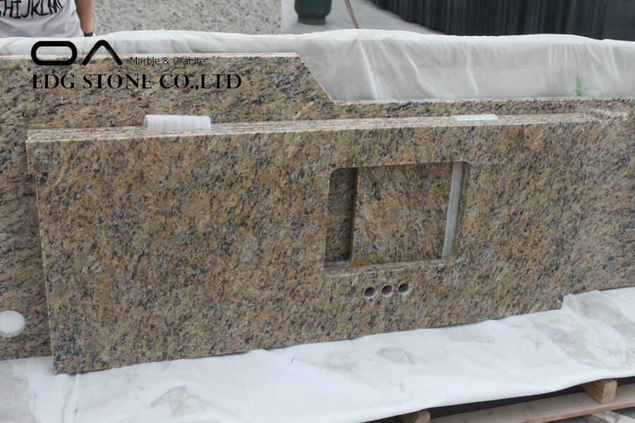 giallo cream granite