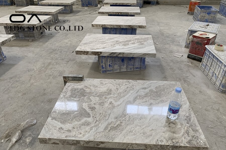 painting countertops to look like marble