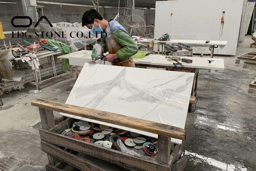 stained quartz countertops