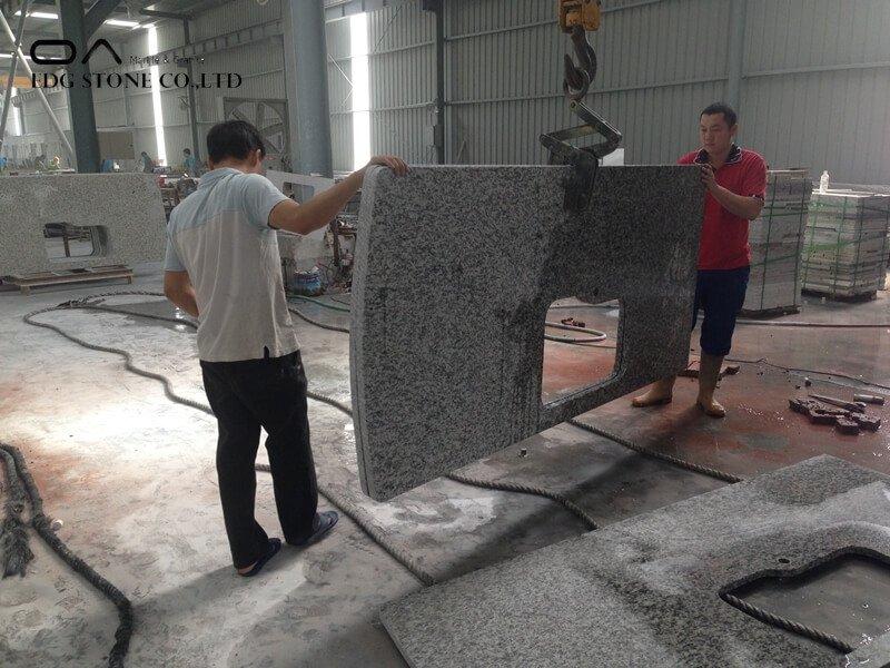 cream granite countertops
