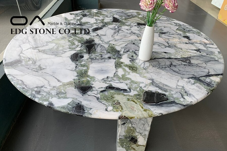 green marble formica