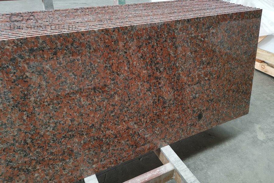 red granite marble