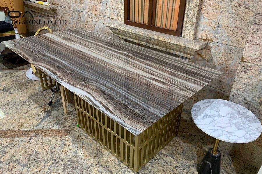 slate countertop kitchen