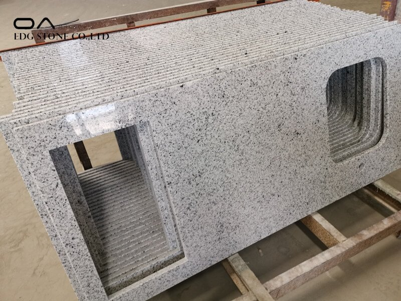 waterfall granite countertop
