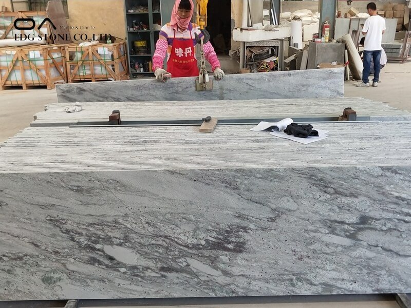 white fantasy granite