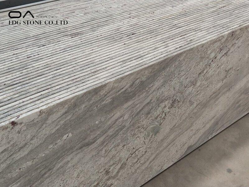 white ornamental granite