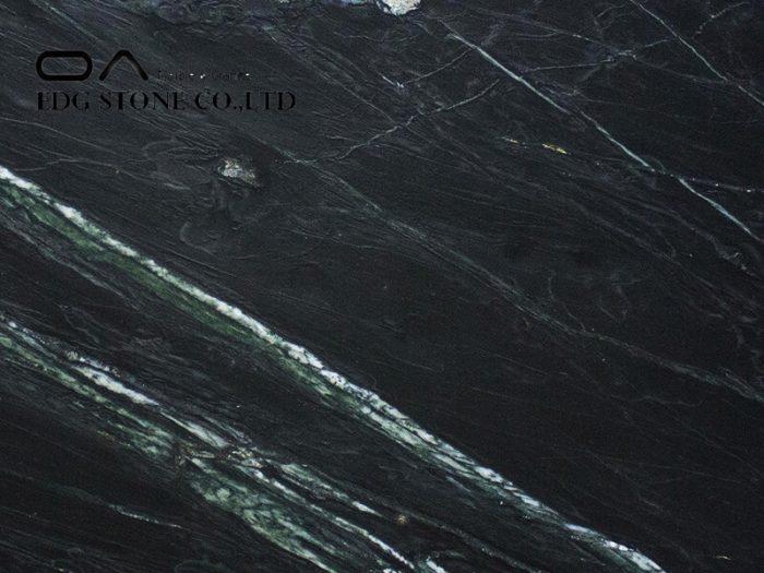 Soapstone Marine Black Leather