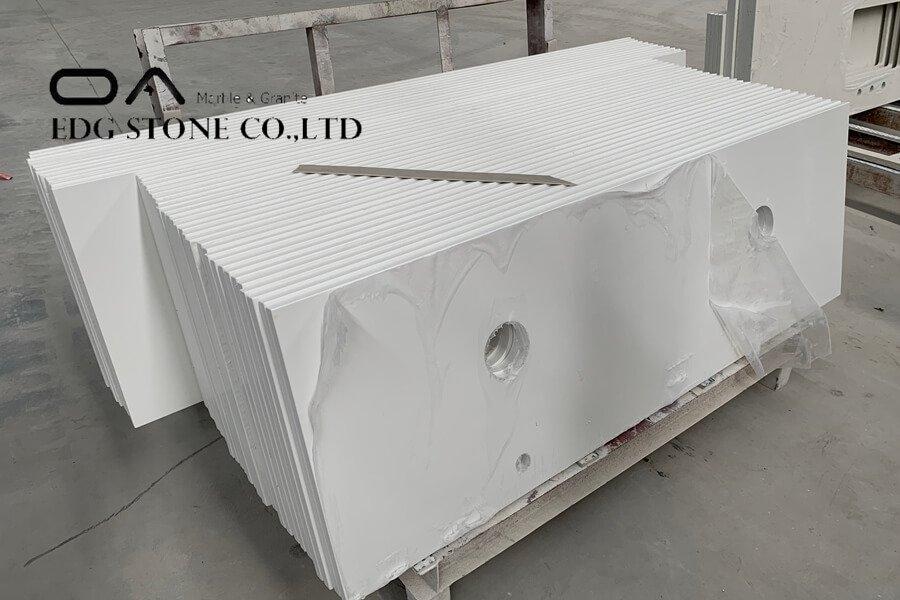 prefab quartz countertops home depot