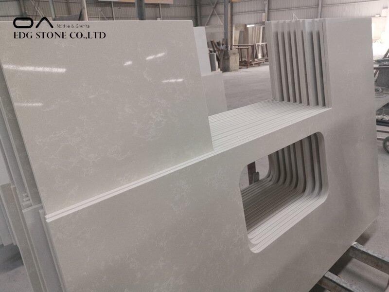 quartz countertops made of